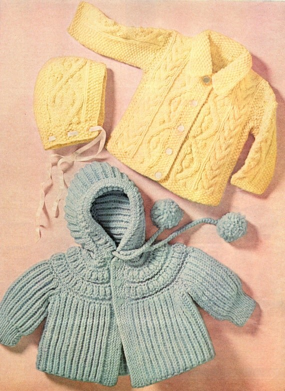 Knitting Pattern Sweater With Collar : knitting pattern baby sweaters collar sweater cardigan hooded