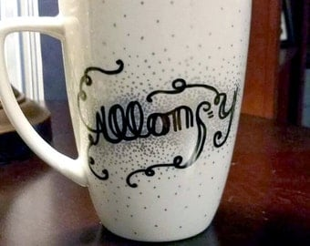 Allons-y! Doctor Who coffee cup