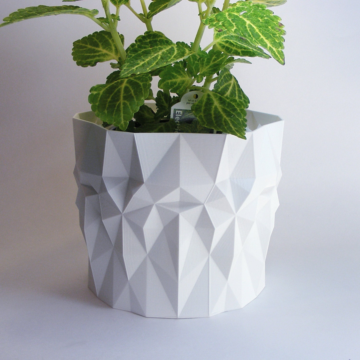 modern pot geometric pot for plants outdoor planter. Black Bedroom Furniture Sets. Home Design Ideas