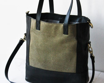 The Luxury Tote and Crosbody Handbag