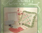 Embroidery Patterns Hardanger Ribbons by Janice Love ©1989 Christmas Stocking Pillows Embroidery Designs Embroidery Stitches Projects