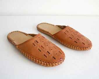 Handmade Leather Slippers