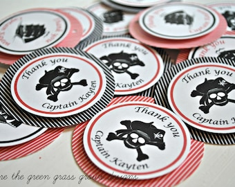 Pirate Tags Pirate party tags pirate birthday pirate party