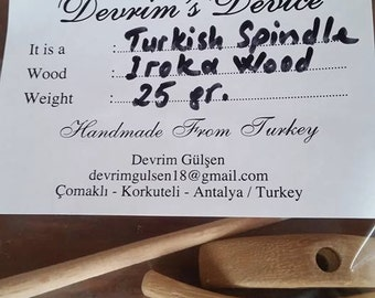 Turkish Drop Spindle...