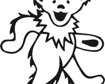 Grateful Dead Dancing Bear Digital Cross Stitch Pattern pdf