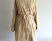 Handmade Linen Robe - Wheat