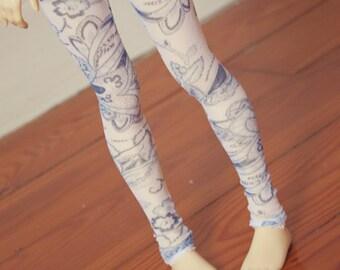 Floral pair of leggings