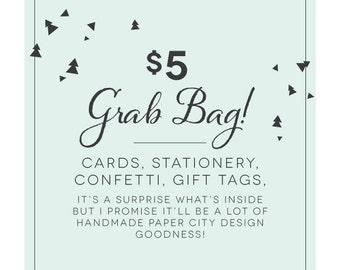 SURPRISE! Grab Bag of assorted paper goods!