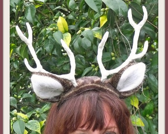 Deer Costume - Antler Headpiece