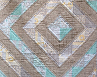 Squared Baby/Toddler Quilt