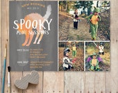 Halloween Mini Session Template, Photography Marketing Board, Spooky Halloween Minis PSD Template - Instant Download