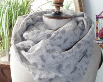 SCARF... Pure wool... effortlessly, noble