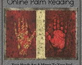Online Palm Reading, Your Life Purpose,Your Personality, Your Spiritual Guidance