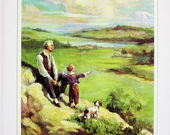 Over The Hills 1971 My Book House Volume 5 Five - Olive Beaupre Miller - Classic Literature Tales And Travels - Imagination Stories For Kids