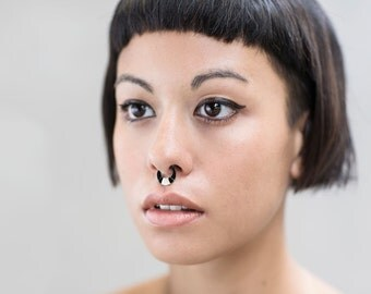 Septum Jewelry - Boho Nose Ring - Sterling Silver Nose Ring