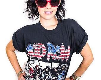 Vintage Skid Row Tee 90s Metal Glam Rock n Roll 80s Tee Heavy Metal Punk Boho Rocker Skid Row shirt LP Rock Rock n Roll Band tee Rocker tee