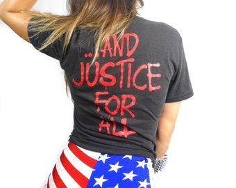 Vintage Metallica Tee 90s And Justice for All