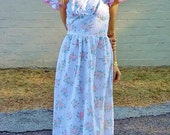 floral bohemian hippie wedding dress 1970s retro bride beach wedding dress pink floral garden party festival petite fit retro prom dress