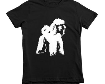 Poodle Kids T-shirt, Poodle Gifts, Custom Kids Tshirt, Gift For Niece, Gift For Nephew, Dog Themed Birthday Party, Custom Dog Sympathy Gift