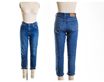 Levis Cropped Fitted Stretchy Jeans  size 4/6