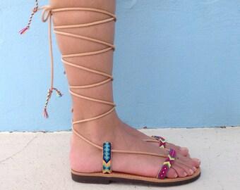 Boho Sandals, sandals, gladiator sandals, bohemian sandals,hippie sandals, summer sandals
