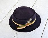 1940s Rafield Wool Felt Ladies' Fedora