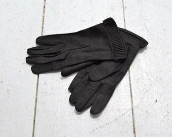 1940s Wear Right Black Gloves