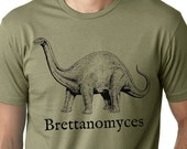 Brettanomyces Dinosaur T-Shirt Homebrew Craft Beer Shirt