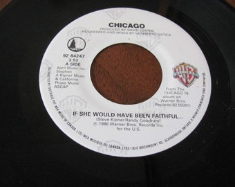 IF SHE WOULD HAVE BEEN FAITHFUL Chords - Chicago | E-Chords