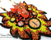 Dragon Guardian Bib Necklace SALE