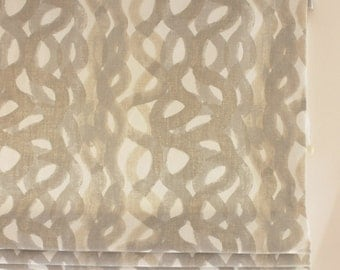 Christopher Farr Roman Shades in Fathom (shown in Smoke - comes in Hot Pink, Indigo, Lemon and Sage)