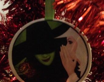 Wicked Elphaba and Glinda Ornament