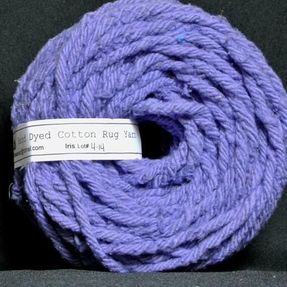 Hand gefärbt Baumwolle Teppich Garn Farben von