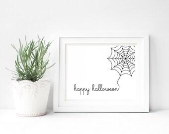Printable Halloween Art. Halloween Decor. 8x10 Fall Printable. Halloween Printable. Digital Download. Instant Download Printable Art.