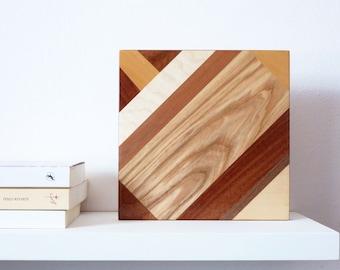 cuadro de madera decoracin del hogar decoracin de pared decoracin madera arte