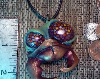 OOAK ORIGINAL BEETLE Necklace by Tom Taggart