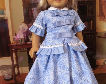 Historical Dress, Pantaloons, Slip and Pantaloons, 18 Inch Doll Clothes