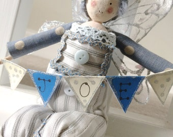 Elves - With Personalised Bunting