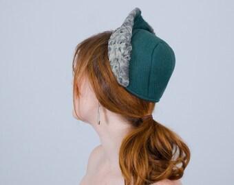 1940s vintage hat / wool bonnet / Stern & Mann
