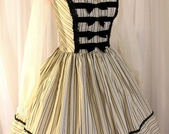 Elegant Striped Jsk