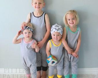 Harem Romper // Child Romper // Baby Romper // Child Bodysuit // Baby Bodysuit // Infant Romper // Unisex // Modern Children Clothing