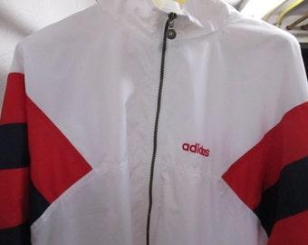 Vintage Adidas Men's Jacket Sportswear Athletic Clothing Windbreakers Men's Gifts 80's 90's YourFineHouse SHIPSWORLDWIDE