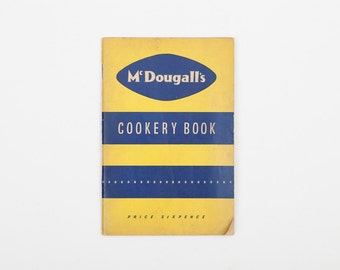 McDougall's Cookery Book - Vintage Cookery Booklet, 1960s, Promotional Cookbook McDougall's Flour