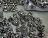 Destash Swarovski Beads Mixed Bead Lot Supplies DIY Crystal Collection