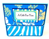 Gift Card Holder, Gift Card Envelope, Gift Card Box, Money Holder- Summer Floral