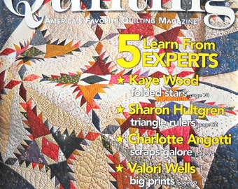 Fons and Porter's Love of Quilting Magazine, January/February 2006 Issue