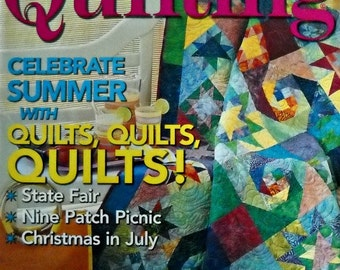 Fons and Porter's Love of Quilting Magazine, July/August 2005 Issue