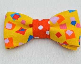 Boys Geometric Bow Tie