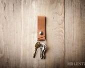 Leather keychain, Leather Key Fob, keychain, key fob, key ring, leather keyring 009