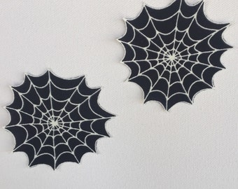 Spider Web Pasties/Nipple Covers (Glow In The Dark!)